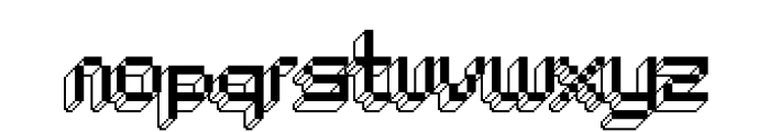 ChipTunes-Regular Font LOWERCASE