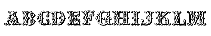 Chipperfield_and_Bailey Font UPPERCASE
