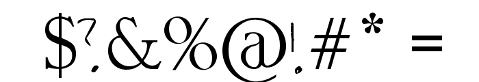 Chippy Handwriting Font OTHER CHARS