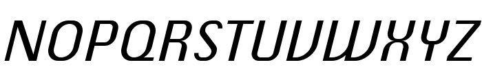 ChiqReduced-Italic Font UPPERCASE