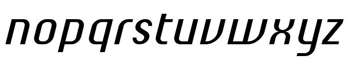 ChiqReduced-Italic Font LOWERCASE