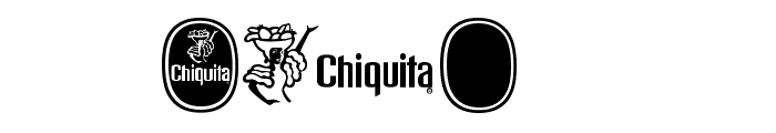 Chiquita Outlined Font OTHER CHARS