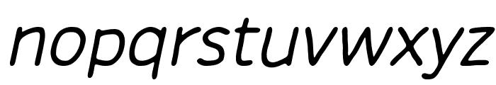 Chirota Italic Font LOWERCASE