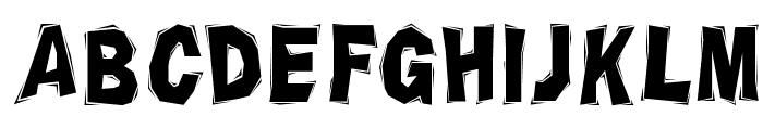 Chiseled Font LOWERCASE