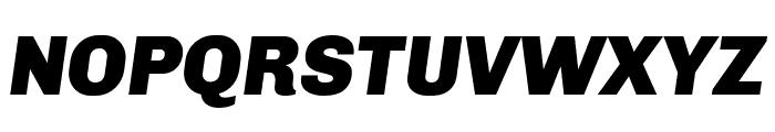 Chivo Black Italic Font UPPERCASE