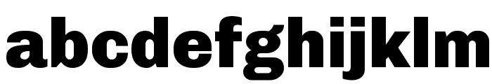 Chivo Black Font LOWERCASE