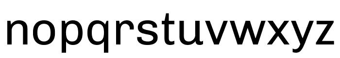 Chivo Regular Font LOWERCASE