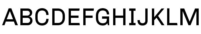 Chivo Font UPPERCASE