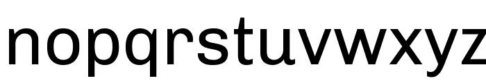 Chivo Font LOWERCASE