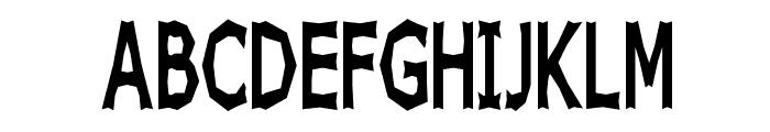 Chizz High Font UPPERCASE