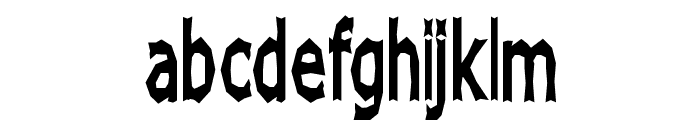 Chizz High Font LOWERCASE
