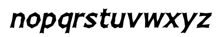 Chizz Italic Font LOWERCASE
