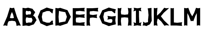 Chizz Wide High Font UPPERCASE