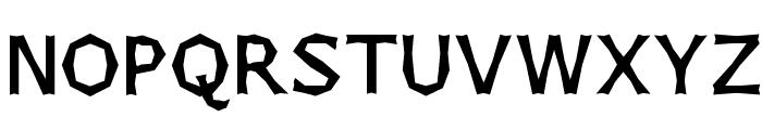 Chizzler SemiBold Font UPPERCASE