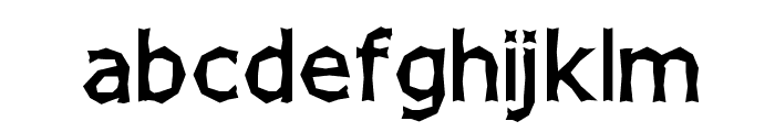 Chizzler SemiBold Font LOWERCASE