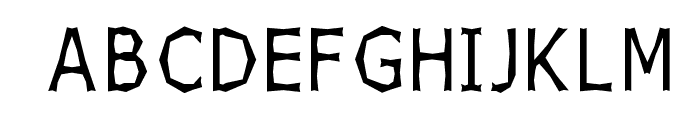 Chizzler Thin Font UPPERCASE