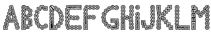 Chlorinov Font LOWERCASE