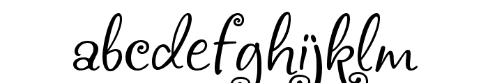 Chocogirl Font LOWERCASE