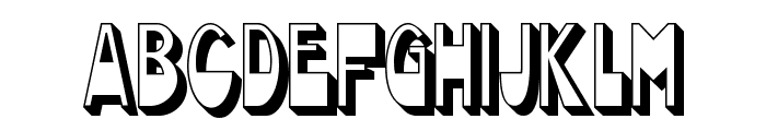 Chocolate Drops NF Font LOWERCASE