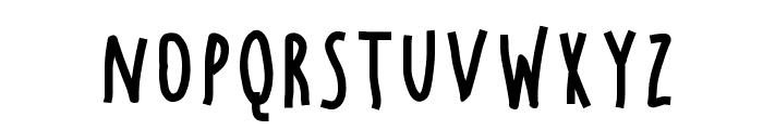 Chocolate Windows Font LOWERCASE