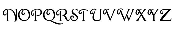 ChocolateBox Font UPPERCASE