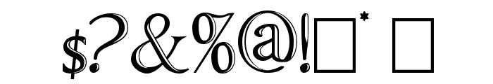 ChocolateBoxDecorative Font OTHER CHARS