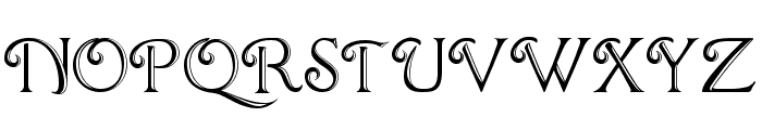 ChocolateBoxDecorative Font UPPERCASE