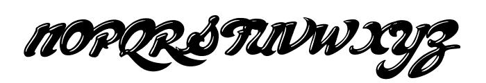 ChocolateDealer-Bold Font UPPERCASE