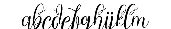ChocolateMilkyFreePersonal Font LOWERCASE