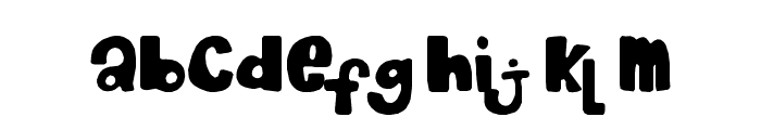 Chocolate_Muffin Font LOWERCASE
