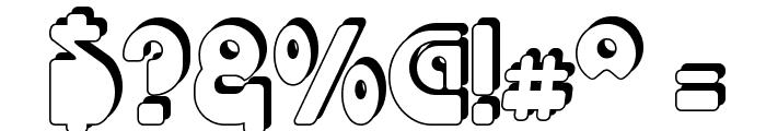 Choda Chado Font OTHER CHARS