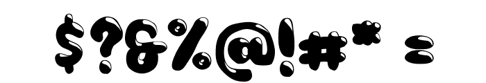 Choko Font OTHER CHARS