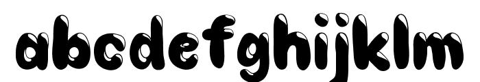 Choko Font LOWERCASE