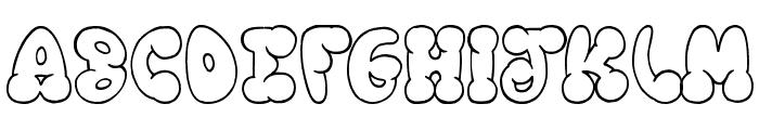 Chooka Zoon Font UPPERCASE