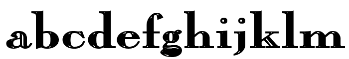 Chopin-Bold Font LOWERCASE
