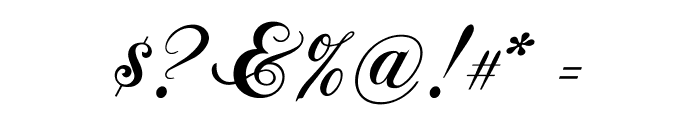 ChopinScript Font OTHER CHARS
