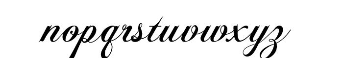 ChopinScript Font LOWERCASE