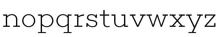 Choplin ExtraLight-DEMO Font LOWERCASE