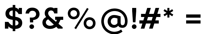 Choplin Medium-DEMO Font OTHER CHARS