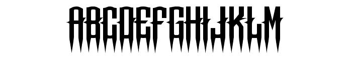 Chops chopS Regular Font UPPERCASE