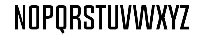 Chosence Font UPPERCASE