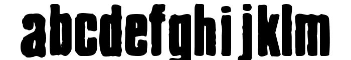 Chrispy Font LOWERCASE