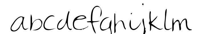 Christa Regular Font LOWERCASE