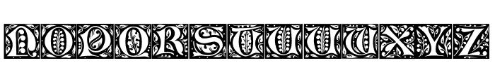 Christensen Caps Regular Font LOWERCASE