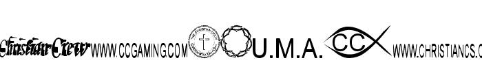 Christian Crew Font UPPERCASE