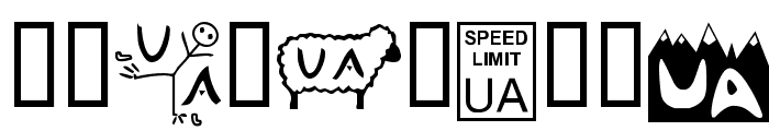 Christian Crosses II Font OTHER CHARS
