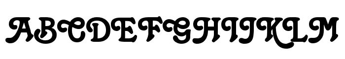 Christie Font UPPERCASE