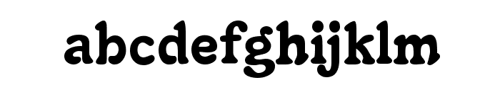 Christie Font LOWERCASE
