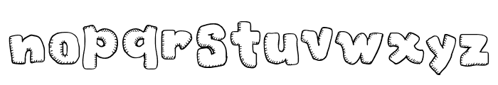 Christmas Cookies Font LOWERCASE