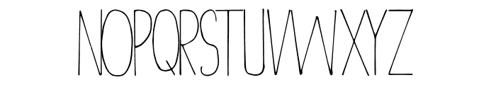 Christmas Decor Font UPPERCASE